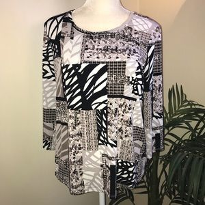 Easywear by Chico's Stretch Tunic Style Top 1 8 10